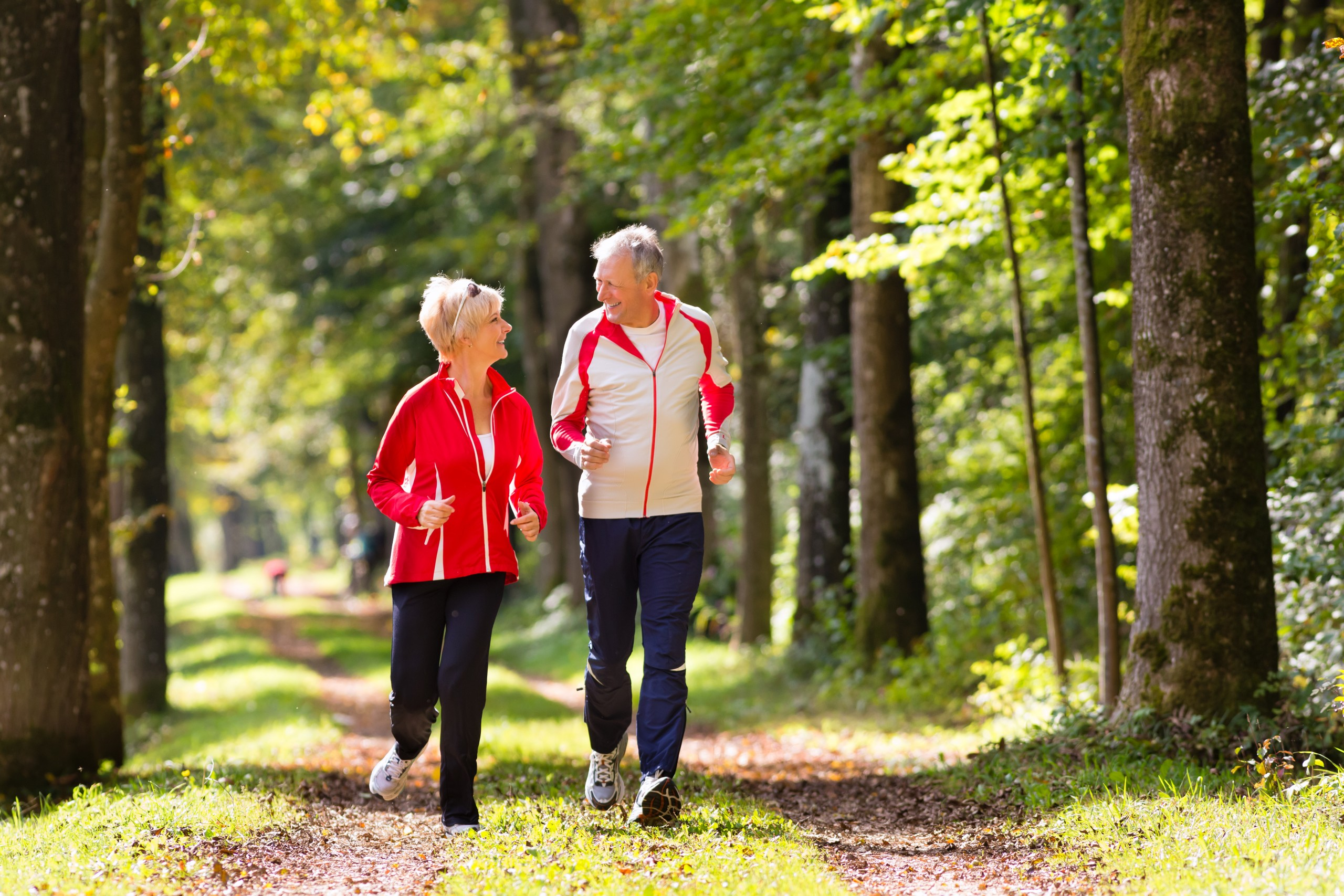 Jogging seniorów