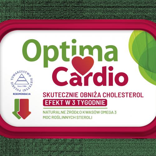 Optima Cardio ze sterolami roślinnymi, które skutecznie obniżają cholesterol już w 3 tygodnie.