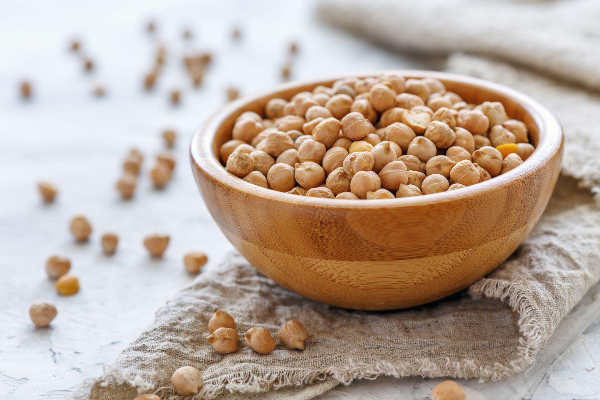 Ciecierzyca dostarcza białko w diecie wegetariańskiej i wegańskiej