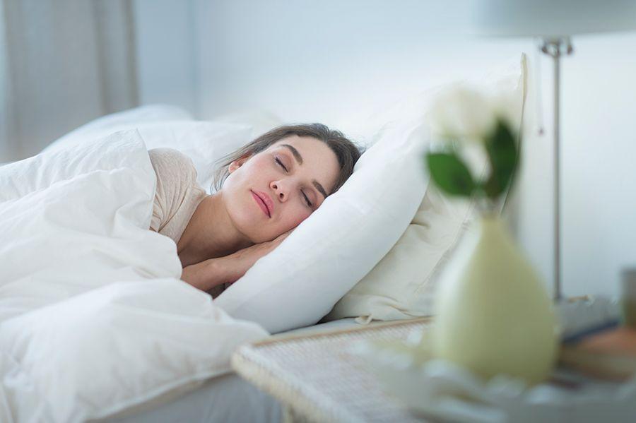 Porady na stres - zdrowy sen